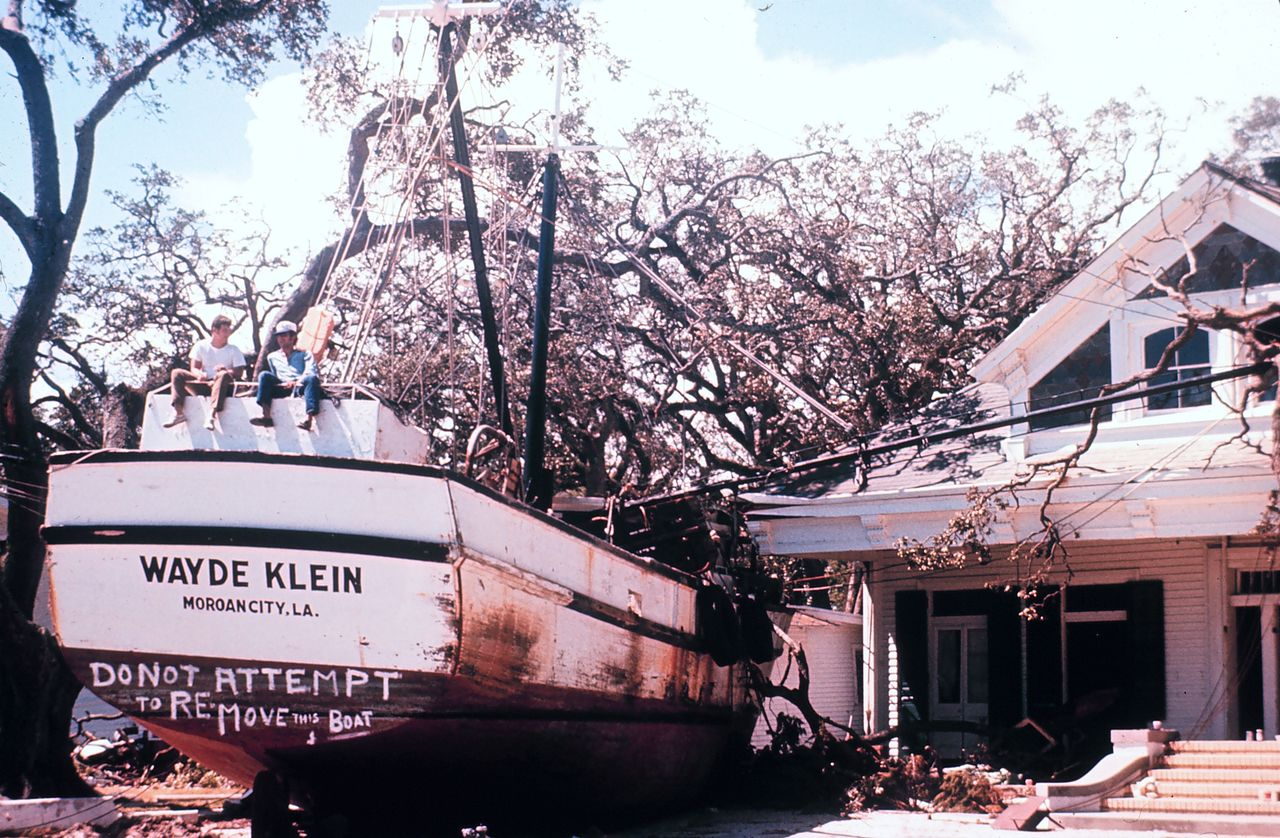 Aftermath of Hurricane Camille