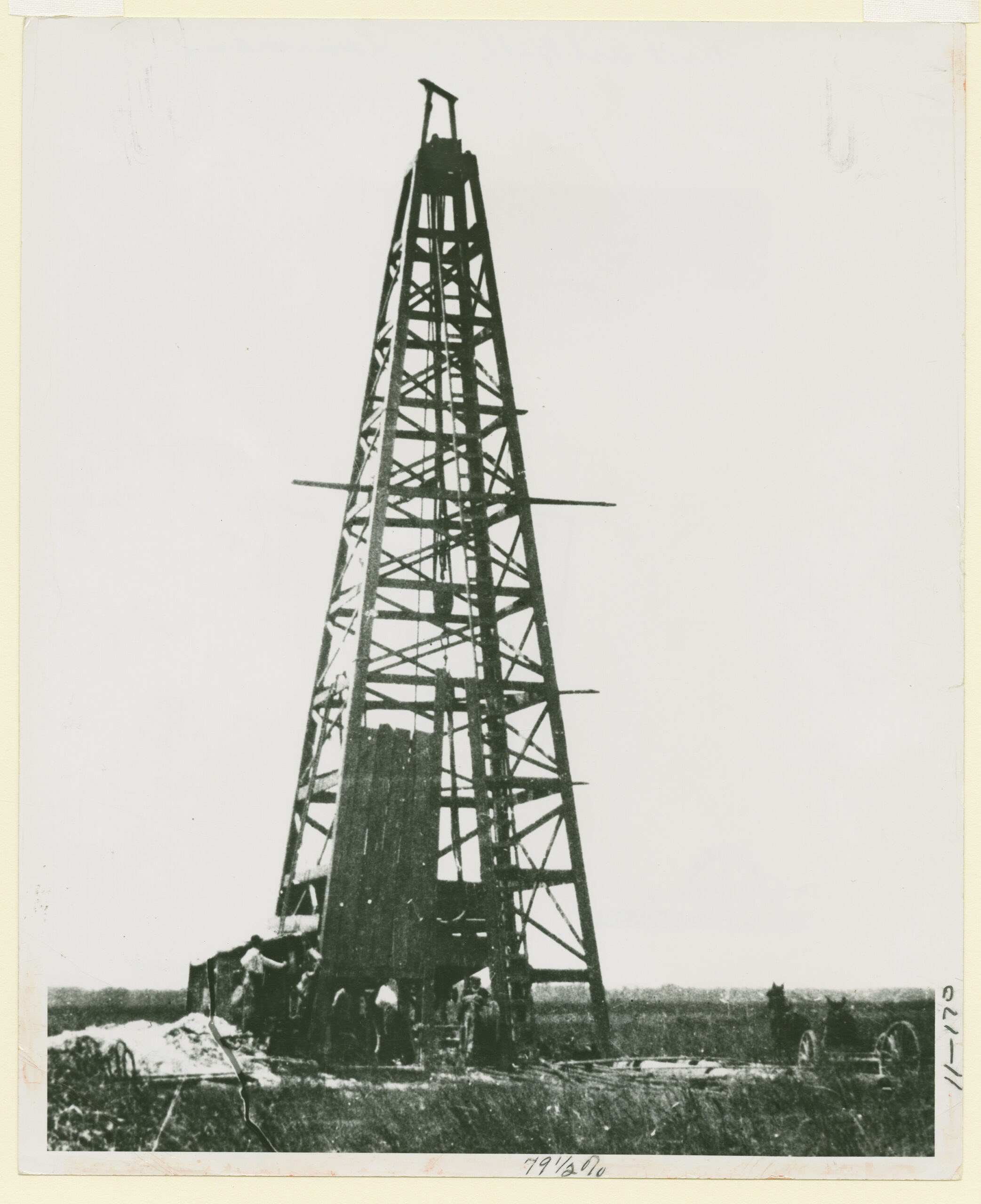 First Louisiana Oil Well