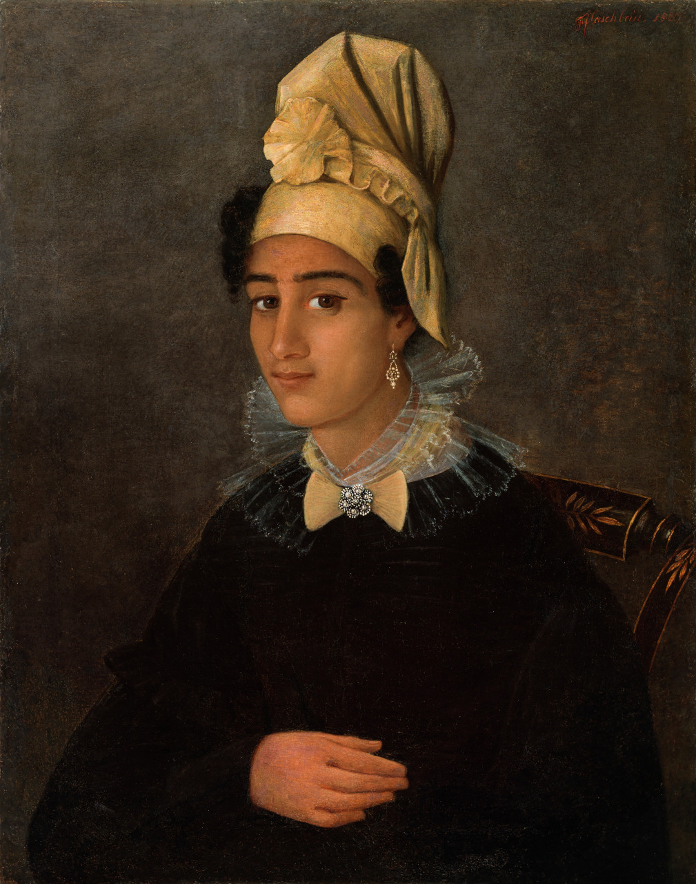 Portrait of a Free Woman of Color (formerly Betsy)