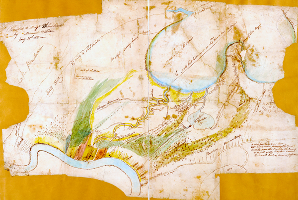 1815 Map of New Orleans