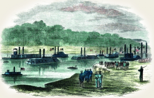 Admiral Porter's Fleet on the Red River