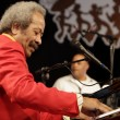 Allen Toussaint performing at New Orleans Jazz & Heritage Festival in 2009