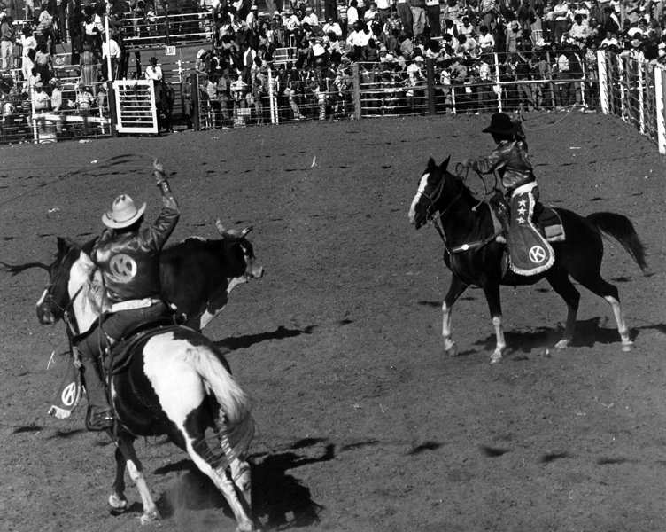 Angola Prison Rodeo at the Louisiana State Penitentiary in Angola, Louisiana, in the 1970s.