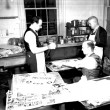 Artists at the WPA art project workshop in New Orleans
