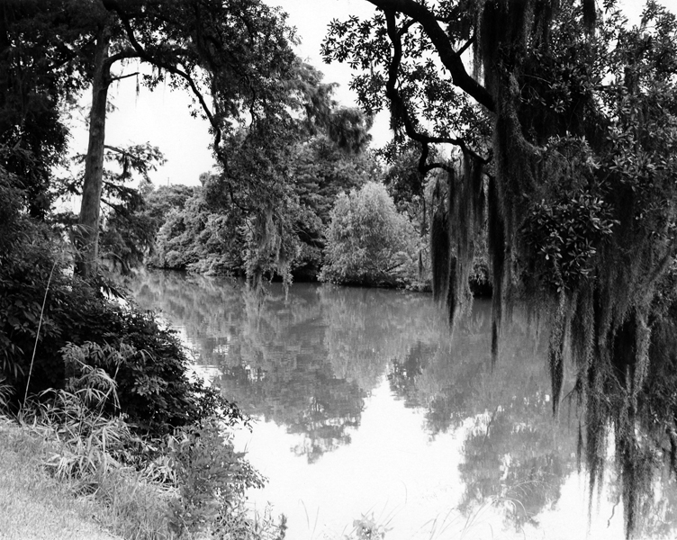 Bayou in Louisiana in the 1960s.
