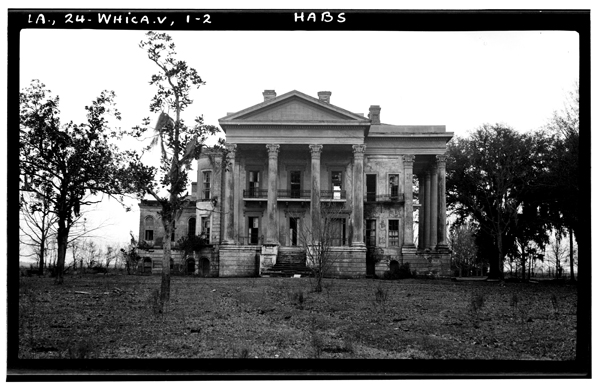 Belle Grove Plantation in Iberville Parish