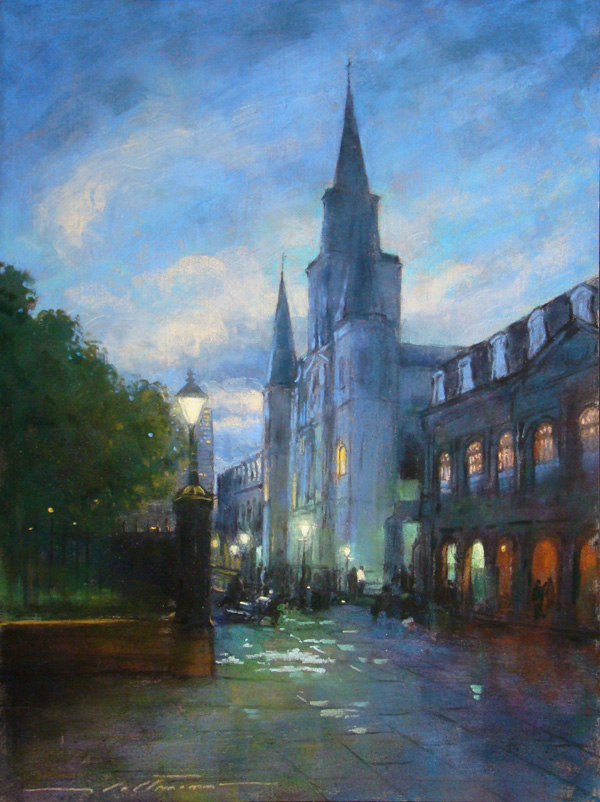 Blue Twilight at the Cathedral
