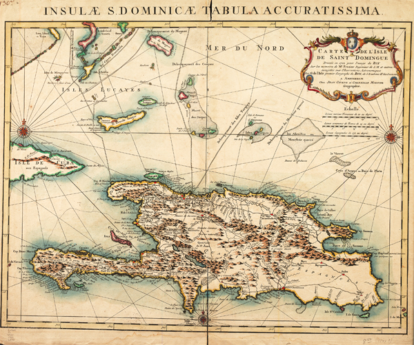 Carte de l'isle de Saint Domingue