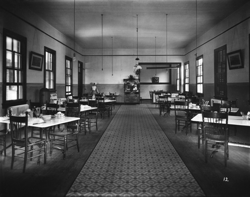 Dining Hall, Carville Lepers Home