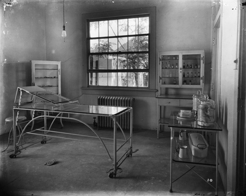 Examination Room, Carville Lepers Home