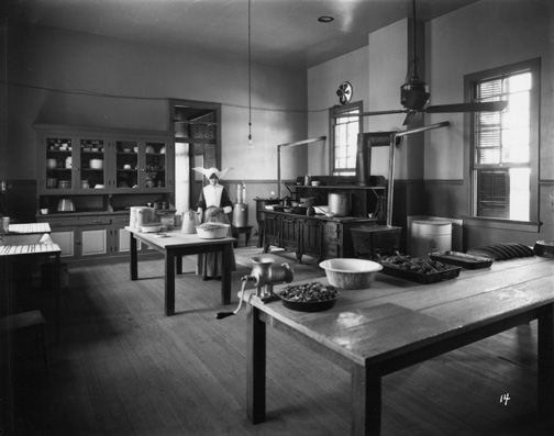 Kitchen, Carville Lepers Home