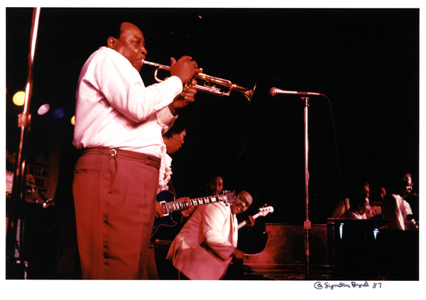 Dave Bartholomew with Fats Domino