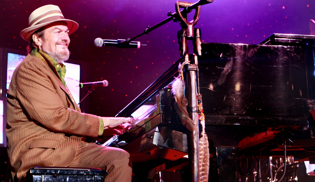 Dr. John performing at The Big Easy Music Awards in 2008