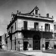 Exterior view of the Louisiana State Bank in New Orleans Louisiana in 1934