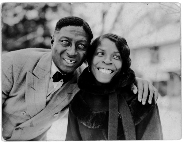 "Huddie ""Lead Belly"" Ledbetter and Martha Promise Ledbetter"