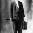 Huey Pierce Long at 17, working as a traveling salesman