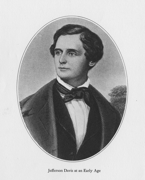 Jefferson Davis at an early age