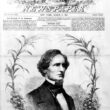 Jefferson Davis, first president of the new Southern Confederacy