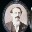 Locket with photo of Louis M. Gottschalk