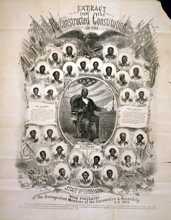 Louisiana Legislators in 1868