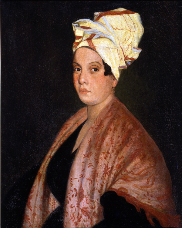 Portrait Formerly Identified As Marie Laveau