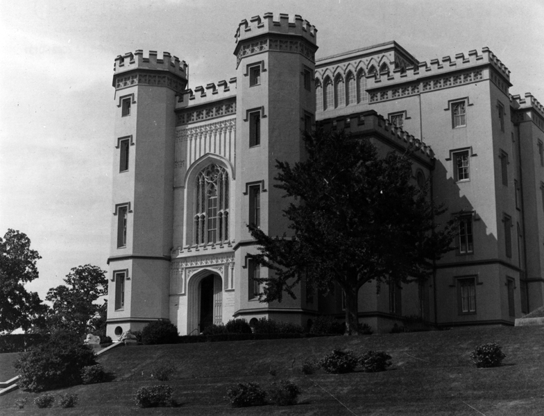 Old State Capitol in Baton Rouge