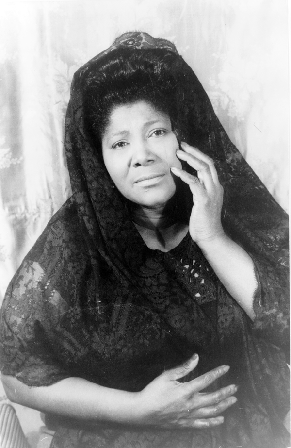 Portrait of Mahalia Jackson