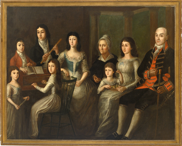 Portrait of Montegut Family