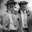Huey P. Long with LSU President James Monroe Smith in 1935