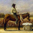 Sharecropper on a Mule