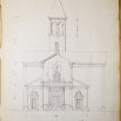 J.N.B. de Pouilly Rendering of St. Augustine Church
