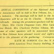 Advertisement for the 35th Annual Convention of the National American Woman Suffrage Association
