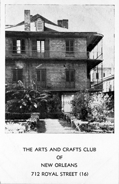 The Arts and Crafts Club of New Orleans