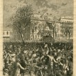 The inauguration of Governor Nicholls on the balcony of St. Patrick's Hall, New Orleans, January 8th, 1877