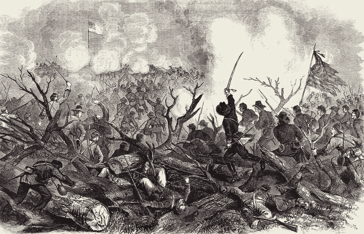 """""""The War in the Southwest – Capture of Fort De Russy"""""""