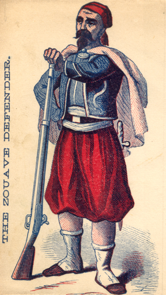 The Zouave Defender