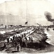 """Triumphant Entry of the Union Army in Alexandria"""