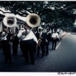 The Tuxedo Brass Band leading a funeral