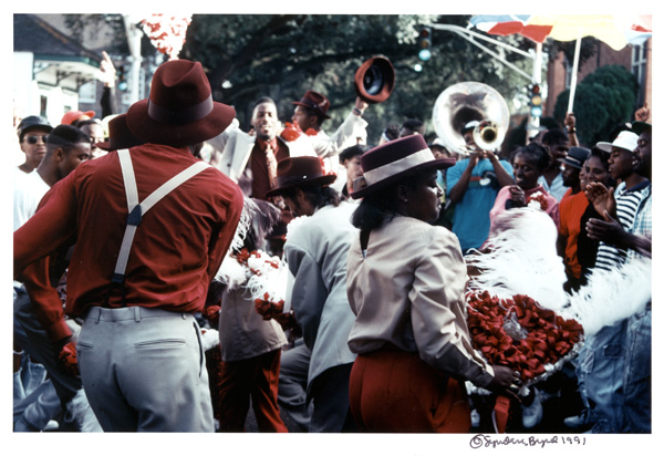 Jazz Funerals and Second Line Parades
