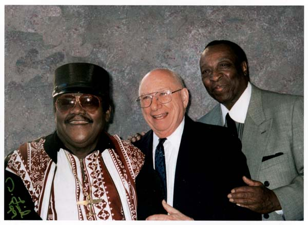 Fats Domino, Cosimo Matassa, and Dave Bartholomew