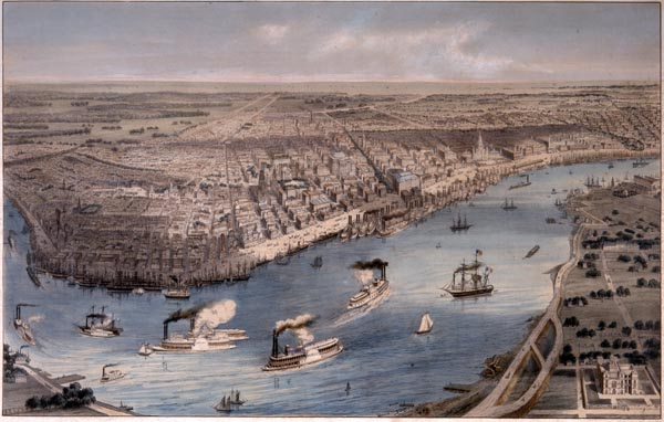 View of the New Orleans