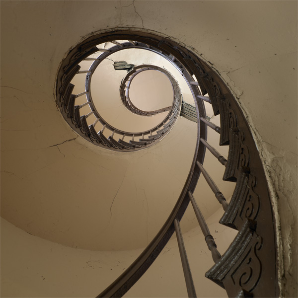 Spiral Staircase, Charbonnet House