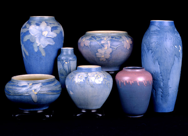 Irvine Vases, courtesy of Roger H. Ogden Collection