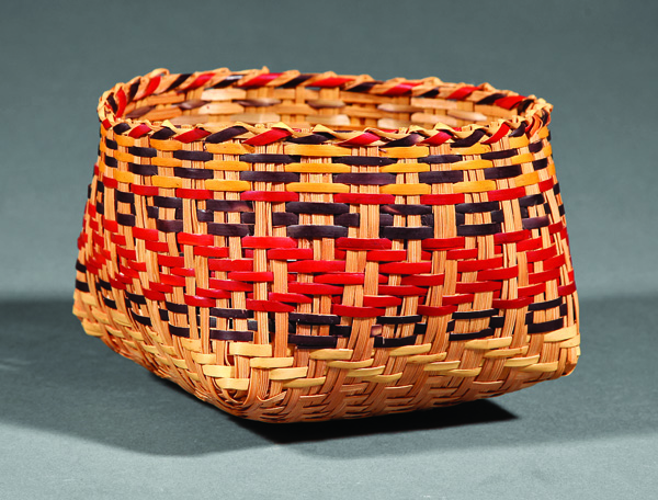 A Chitimacha Single Weave Basket