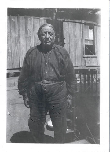 Chief Enoch, Chief of the Caddo Tribe