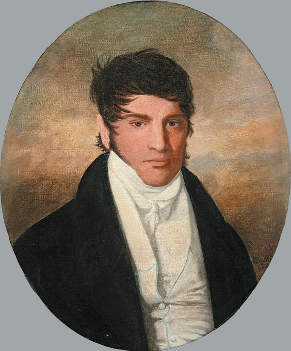 Portrait of Michel Bernard Cantrelle Jr.