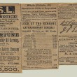 Louisiana State Lottery, advertisement signed by Gen. Beauregard