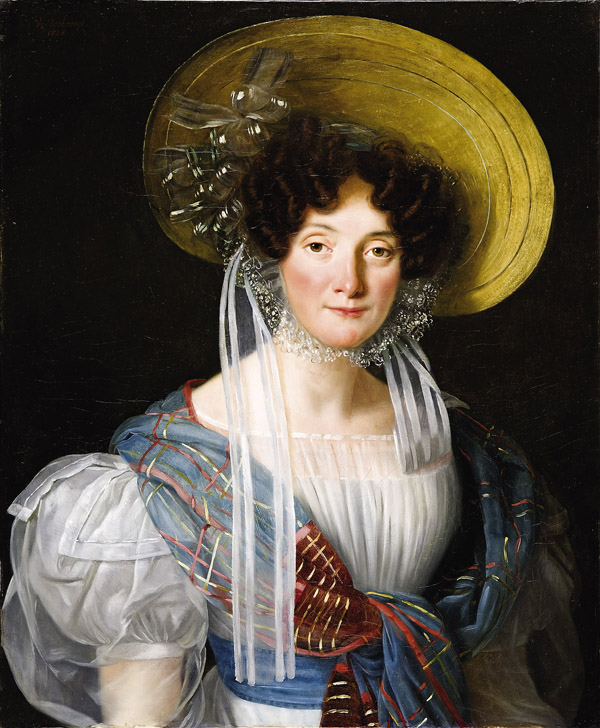 Portrait of a French Woman, probably Catherine Fournier, mother of Alphonsine de Libeert