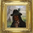 Portrait of a Choctaw Indian Man