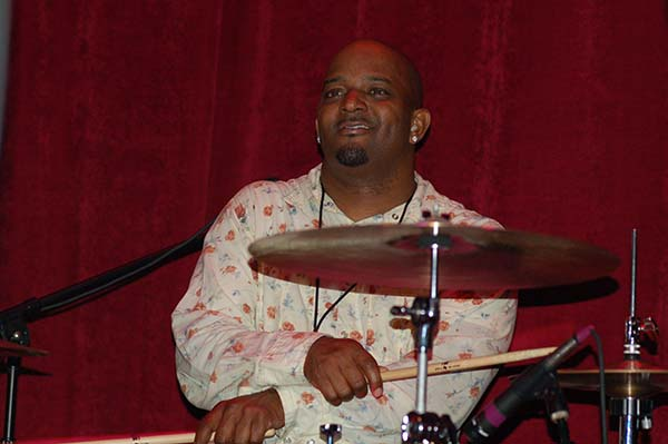 Terence Higgins on Drums